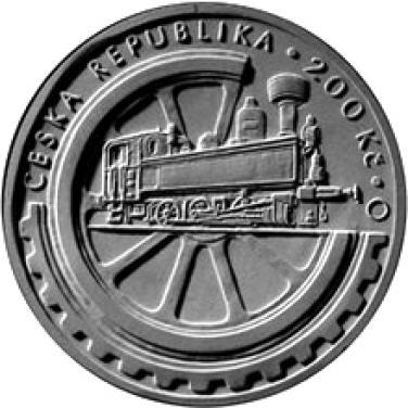 Stříbrná mince 100. výročí založení Národního technického muzea b.k.