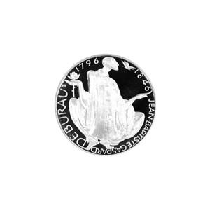 Stříbrná mince 1996 - 200 Kč 650. výročí narození Jean-Baptiste Gaspard Deburaua b.k.