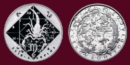 Stříbrná medaile Štír 23.10.-21.11.