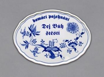 Porcelánový obrázek Boží požehnání český porcelán DUBÍ