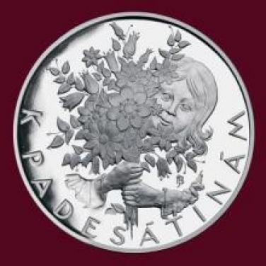 Stříbrná medaile - K životnímu jubileu - 50 let