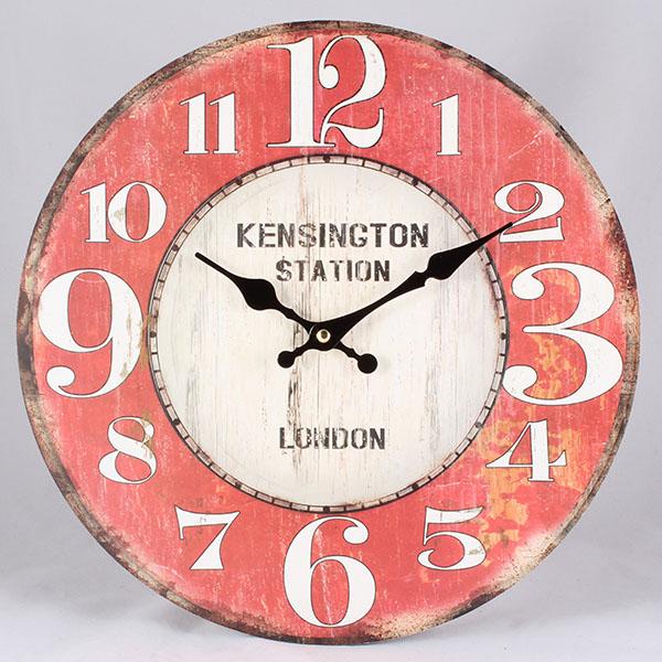Hodiny na zeď Kensington station London