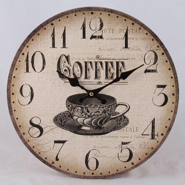 Hodiny na zeď Coffee