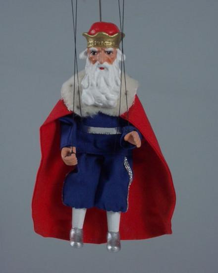 Loutka Král 20 cm