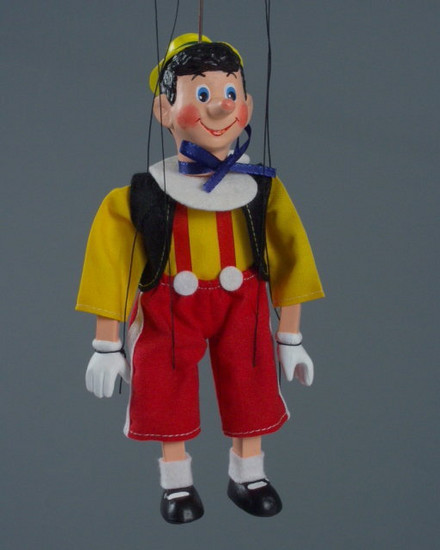 Loutka Pinokio 20 cm