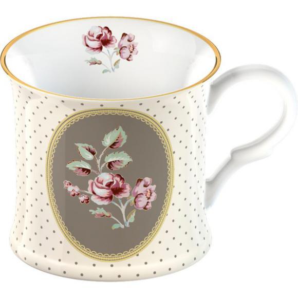 Porcelánový hrnek Biedermeier White