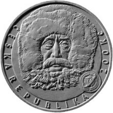 Stříbrná mince 100 let dosažení severního pólu b.k.