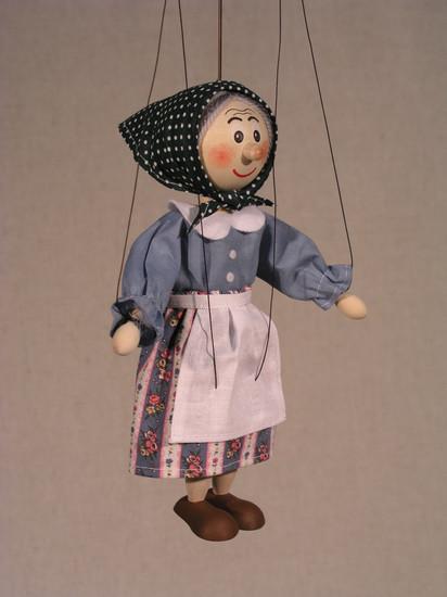 Loutka Babička 20 cm