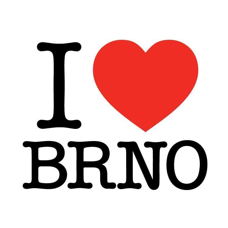 Voňka do auta - osvěžovač vzduchu - I love Brno