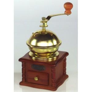 Dřevěný mlýnek na kávu