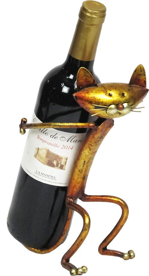 Stojan na víno Kocourek
