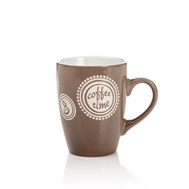 Keramický hrnek Coffee time - sada hrnků na kávu 1+1