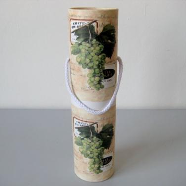 Tuba na víno s motivem bílého vína