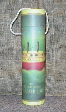 Tuba na víno s motivem lodě