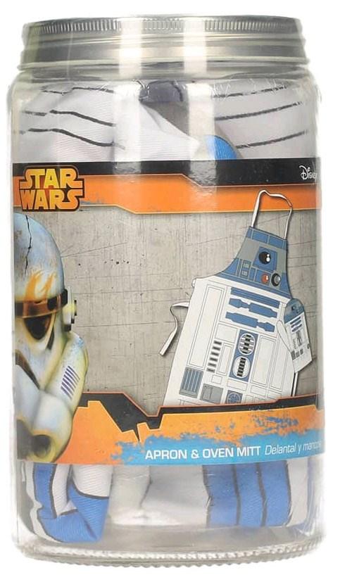 Kuchyňská zástěra Star wars včetně rukavice