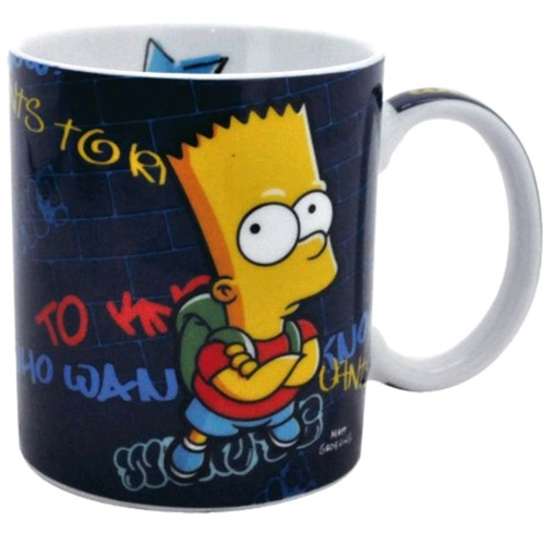 Keramický hrnek The Simpsons - Bart
