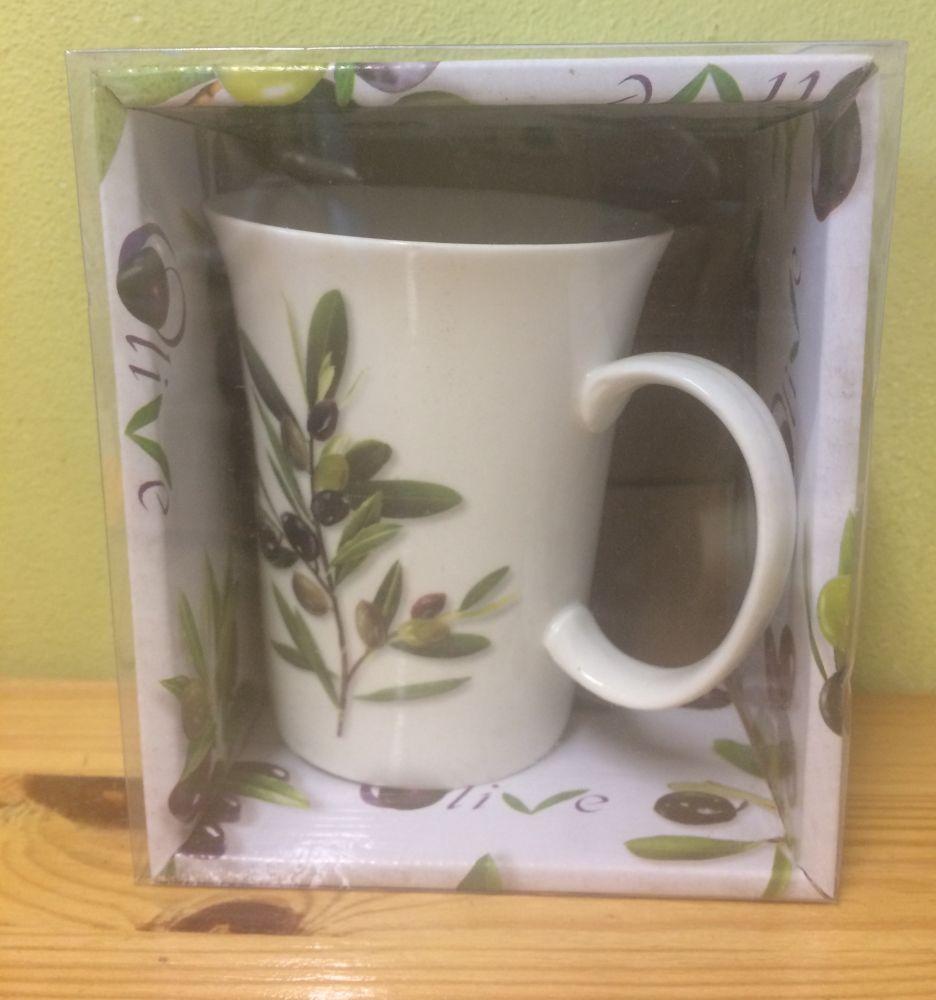 Porcelánový hrnek Olivy v kabičce
