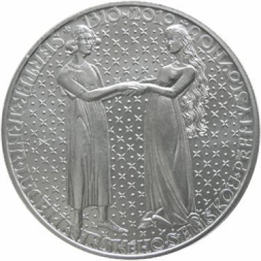 Stříbrná mince 2010 200 Kč - 700. výročí nástup Jana Lucemburského na trůn b.k.