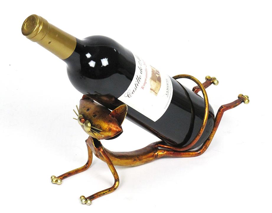 Stojan na víno Kočička