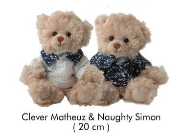 Medvídek Matheuz a Simon