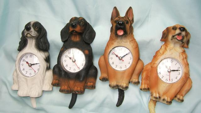Hodiny na zeď Pes Labrador - super cena!