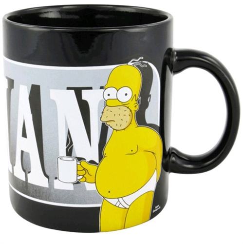 Keramický hrnek The Simpsons - The last perfect man 850ml