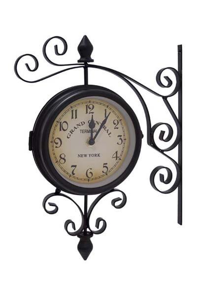 Kovové nádražní hodiny Grand cental New york