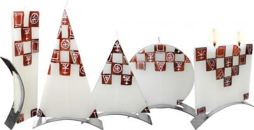 Svíčka Café Pyramid