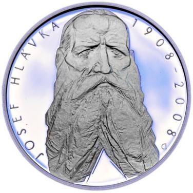 Stříbrná mince 100. výročí úmrtí Josefa Hlávky proof