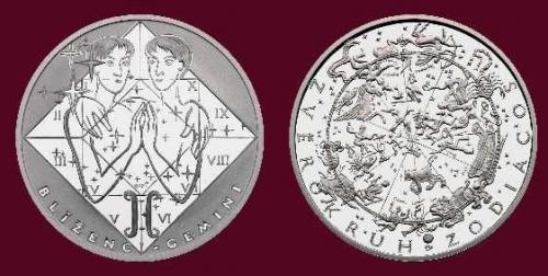 Stříbrná medaile Blíženci 21. 6. - 21. 7.