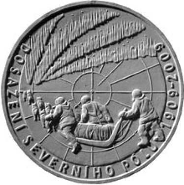 Stříbrná mince 100 let dosažení severního pólu proof