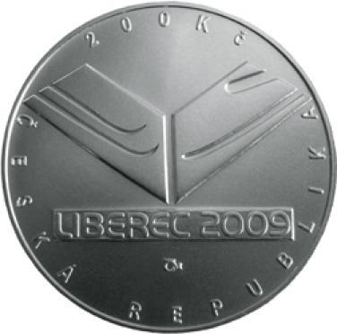 Stříbrná mince - 2009 - 200 Kč - Mistrovství světa v klasickém lyžování proof