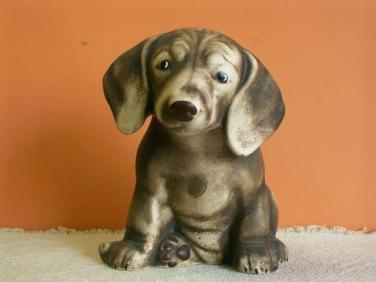 Keramická soška - Pes Jezevčík