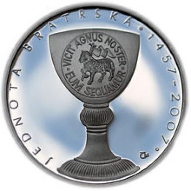 550.výročí založení Jednoty bratrské proof