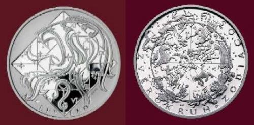Stříbrná medaile Lev 23.7.-22.8.