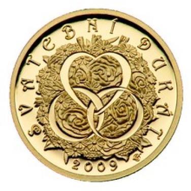 Zlatá medaile Dukát Svatební dukát proof 2010