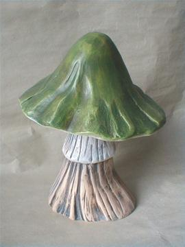 Keramická houba - Holubinka zelená