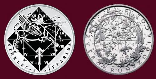 Stříbrná medaile Střelec 22.11.-21.12.