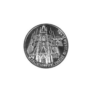 Stříbrná mince - 1994 - 200 Kč - 650. výročí založení Pražského arcibiskupství b.k.