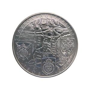 1999 - 200 Kč mince 100. výročí bitvy u Slavkova (Slavkov) b.k.