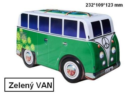 Plechová dóza Retro - Van Green