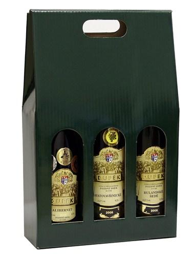 Taška na 3 láhve Green