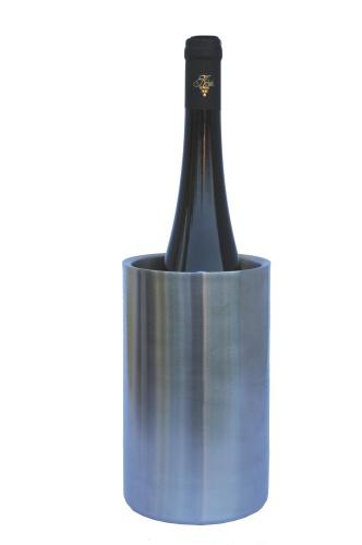 Chladící box na víno - nerez