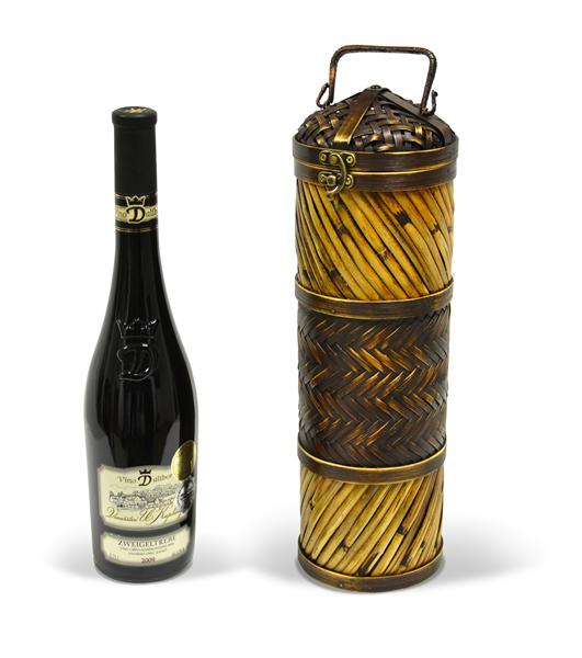Bambusový box na víno REF