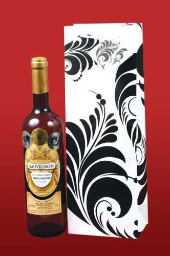 Taška na víno Tapettdesign
