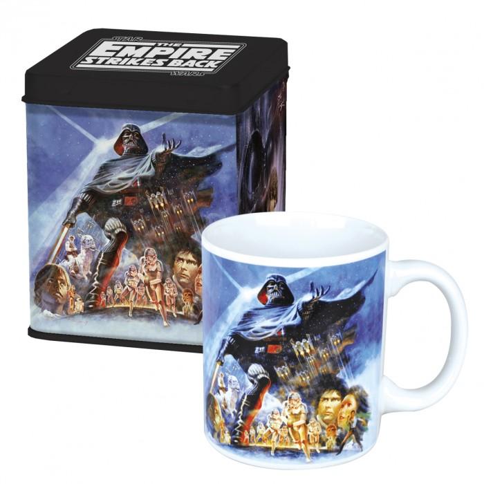 Keramický hrnek Star wars v plechové krabičce - Empire Strikes Back