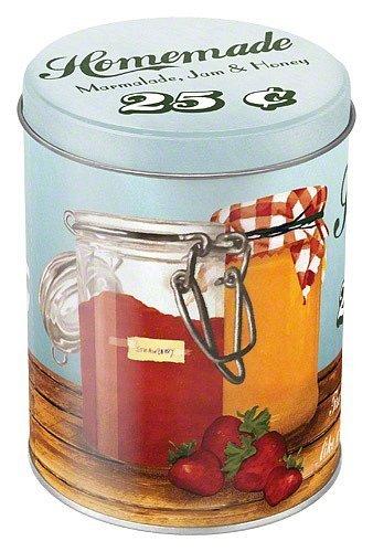 Plechová retro dóza - plechovka Homemade