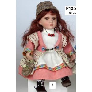 Porcelánová panenka Sisi SUPER CENA