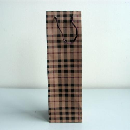 Papírová taška na víno Kosk