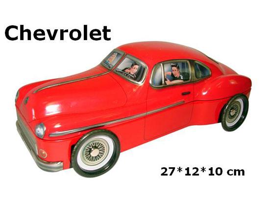 Plechová dóza Retro plechovka - Chevrolet